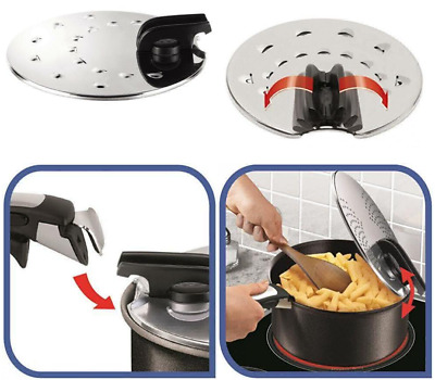 Tefal L9939822 Ingenio Couvercle Antiprojection 20-28 cm