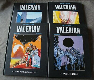Valerian la collection , lot de 4 Bandes dessinées / BD - Album