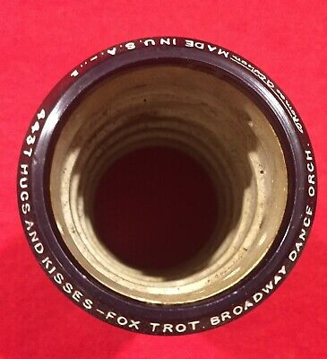 Edison Blue Amberol 4 minute Phonograph Cylinder Record 4437 Fox Trot
