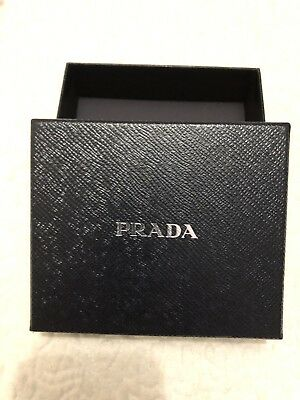 Prada Box Empty Box For Wallet Or Purse Or Other 13.5 Cms X 11.5 Cms
