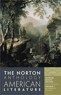 The Norton Anthology of American Literature, Vol. 1 [Shorter Eighth Edition]