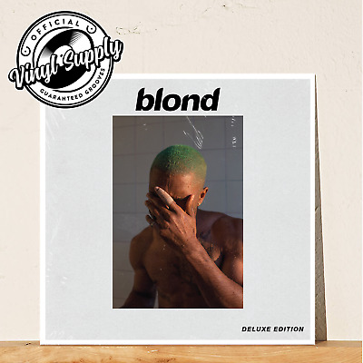 Frank Ocean - Blond [2LP] Vinyl Deluxe Edition Sealed Limited Yellow Blonde