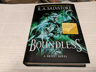 Boundless by R. A. Salvatore (2019, Hardcover) SIGNED 1st/1st B&N Exclusive