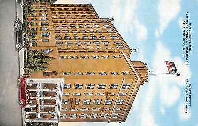 Q24-3197, Hotel Jefferson, Atlantic City, Nj., Postcard.