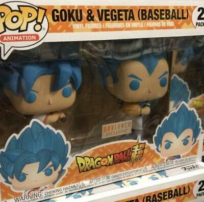Funko Pop! Dragon Ball Z:Goku And Vegeta Baseball Box Launch Preorder!