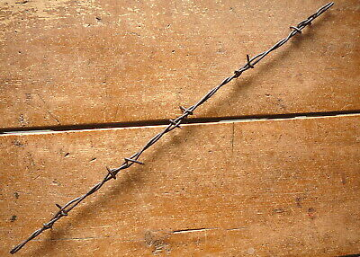 Nadelhoffers Two Point Cross Over Close Spaced Barbs  - Antique Barbed Wire