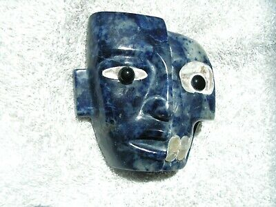 Duality Life & Dead Together Mask Lapis Stone  New. **