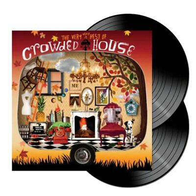 Crowded House  The Very Very Best Of Crowded House 2xLP Black Vinyl