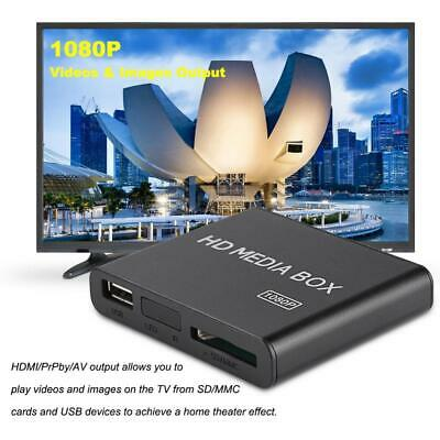 Full Hd 1080P Mini caja Reproductor Multimedia Reproductor De Video Soporte MMC
