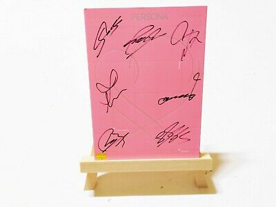 BTS Signed Album Map of soul : PERSONA (3 Ver.) + COA & Photo Card