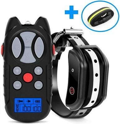 Shock Collar for Dogs, 2019 Newest Flittor Dog training Adjustable, Black