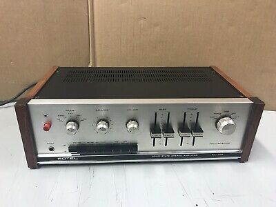 Rotel RA-610 Vintage Integrated Amplifier