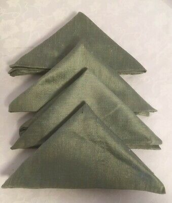 Napkins Walton & Co Set of 4 Sage Green