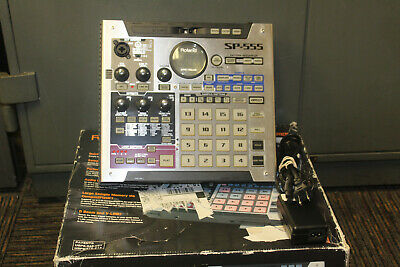 DISCONTINUED RARE Roland SP-555 Creative Sampler Used in Box