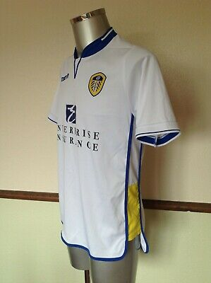 Unworn Official Leeds United Home/White Football Shirt;Small/Medium.