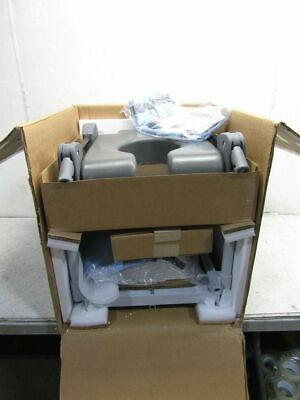 Inspired Gray Bath Transfer and Commode System  BTUAS-5140L-BB