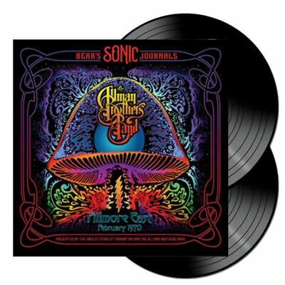 Allman Brothers Band Bear's Sonic Journals: Fillmore East, February 2xLP Vinyl