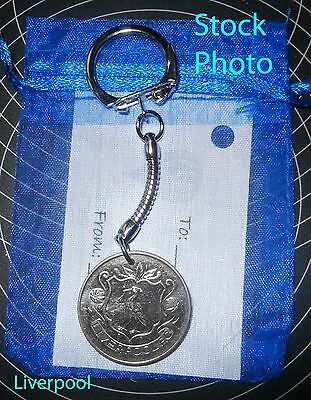Liverpool FC FA Cup Football Keyring Gift unusual present stocking filler t3