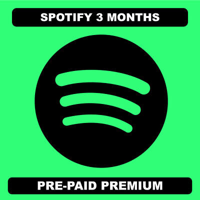 Spotify 3 months premium | READ DESCRIPTION | INSTANT DELIVERY