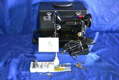 Alphasew 221 Lightweight Sewing Machine Replica Of Singer 221 Featherweight Nice