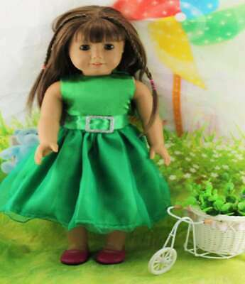 Handmade Doll Clothes Dress Accessories Top Outfit For 18 inch Toy Girl Fashion