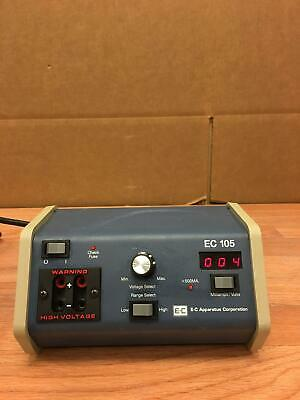 E-C Apparatus Corporation EC-105 Used Working Free Shipping Great Deal