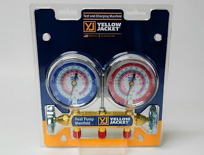 Yellow Jacket 42041 Heat Pump Test and Charging Manifold R-22/410A/407C