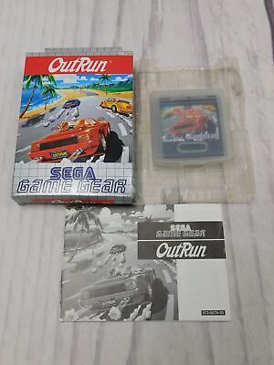 OUTRUN Sega Game Gear Game BOXED Complete CIB GC Good Condition           - F09