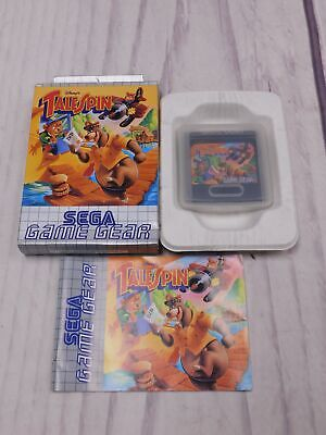 TALE SPIN Sega Game Gear Game BOXED Complete CIB VGC Very Good  - F09
