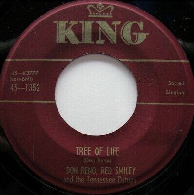 Don Reno Red Smiley King 1352 C&W Sacred Bluegrass 50'S