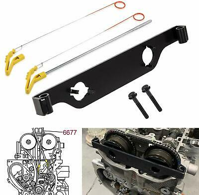 6677 Timing Chain Retainer and En-48953 Cam Phaser Retainer for GM Buick Chevy