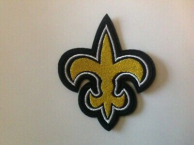 """3"""" Nfl New Orleans Saints Logo Badge Embroidered Iron On Patch"""