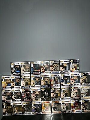 Funko Pop Mystery Lot of 2! VAULTED, RARE, EXCLUSIVE! EACH COMES WITH PROTECTORS