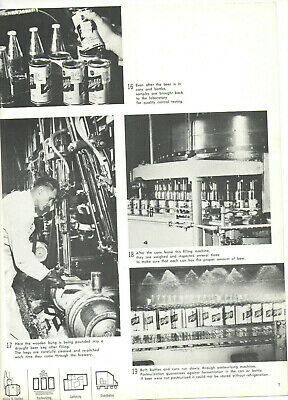 Vintage 1962 Schlitz Beer Magazine! 'How Beer Is Made'! Black & White! 10Mil/Day