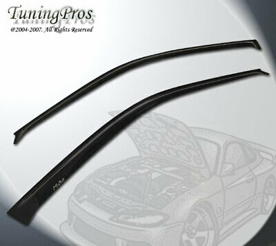 Out-Channel JDM Vent Visors 2pcs For Ford Transit 17-18