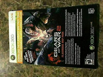 Gears Of War 2 Flashback Map Pack + 48 Hrs Xbox Live - Xbox 360 - Dlc Add On