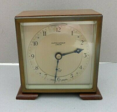 Vintage Mappin & Webb - Elliott Mantel Clock French Escapement GWO (H607)