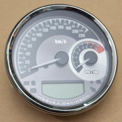 Harley original Tacho Speedometer Km/h Elektronisch Softail Dyna Road King