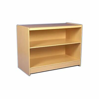 CLEARANCE 1200mm Maple Retail Shop Counter with 1 Shelf ASSEMBLED (Q11/CLR)