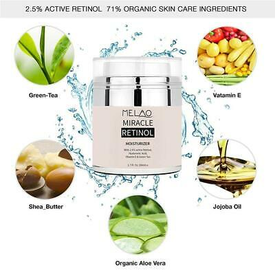 2.5%Retinol Face Cream Serum Anti-aging Vitamin E Hyaluronic Acid - moisturising