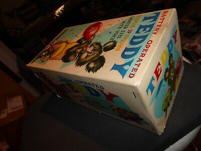 Alps 20784 vintage mint/box Teddy Blowing Baloon funk. gut pristine Top 50ies