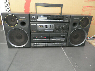 Vintage Panasonic RX-CT 980 Portable Stereo System Cassette/Radio/AUX Boombox