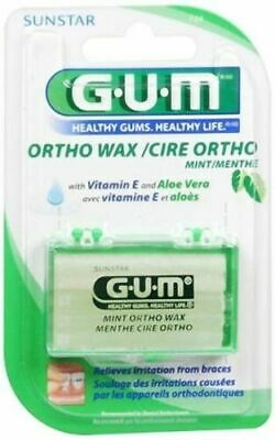 Butler G-U-M Orthodontic Wax Mint 724 Aloe 1 Ea