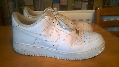 Nike Air Force 1 Size 9 White