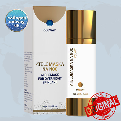 COLWAY AteloMaska na noc 120 ml AteloMask for overnight care Anti-Ageing
