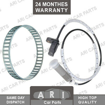 ABS RELUCTOR RING + ABS SPEED SENSOR for BMW 1 3 SERIES E90 E91 E92 E93 Rear