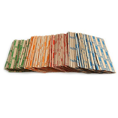 Coin Roll Wrappers 300 CountBundle of 75 Each, Quarters Nickels Dimes Pennies