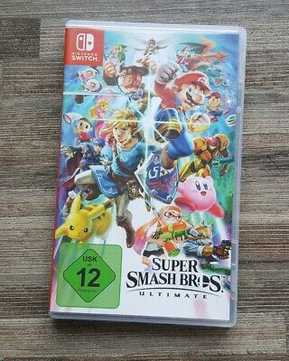Nintendo Switch Spiel Super Smash Bros. Ultimate Wie Neu mit OVP / Deutsch