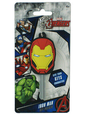 Marvel Iron Man Key Holder Soft 3D Cover Give Your Keys Character Avengers New