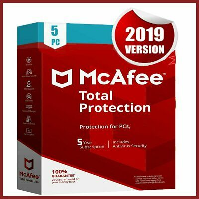 McAfee Total Protection 2020 Antivirus 🔥 5 Device 5 Year🔥Fast Delivery 📥